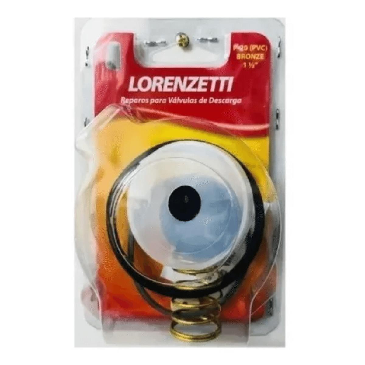 Reparo P/ Valvula Descarga  P20 Original 1.1/2 Pvc Lorenzetti