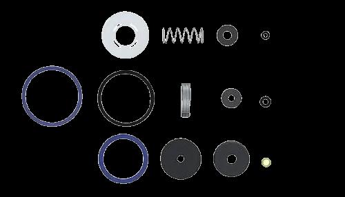 Reparo Valvula Antigo Vcr 2511/2515/2516/2517 Censi 1025