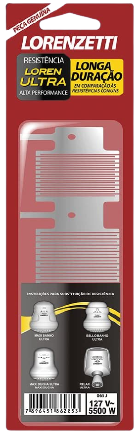 Resistência Ducha Lorenzetti Ultra Maxi