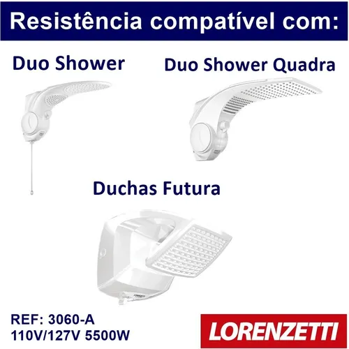 Resistencia Lorenzetti Duo Shower