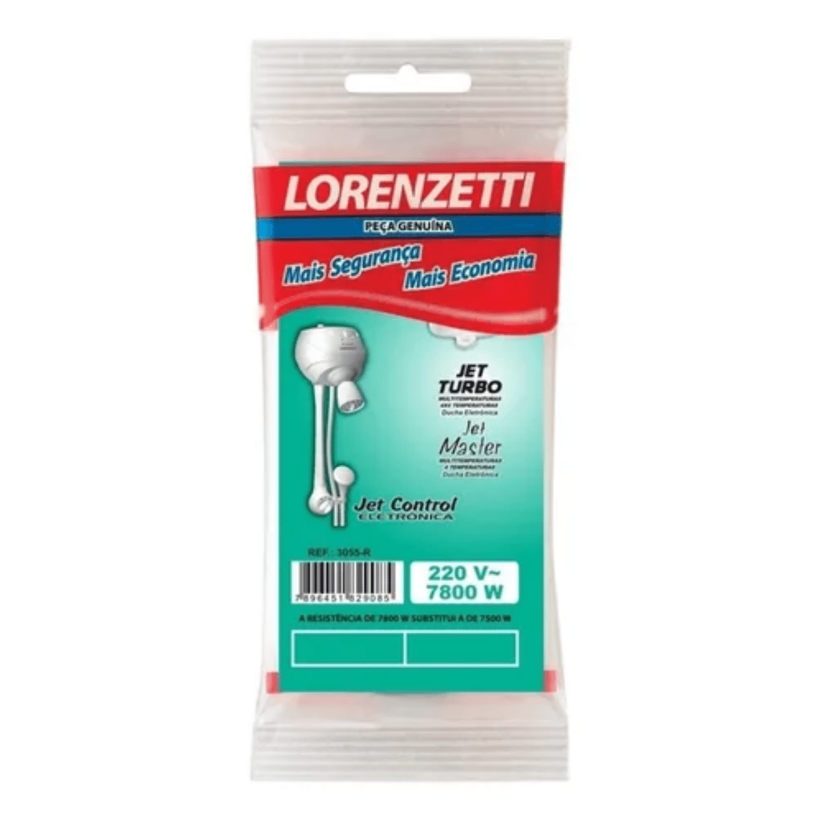 Resistencia Lorenzetti Jet Turbo e Jet Master 110v 5500w