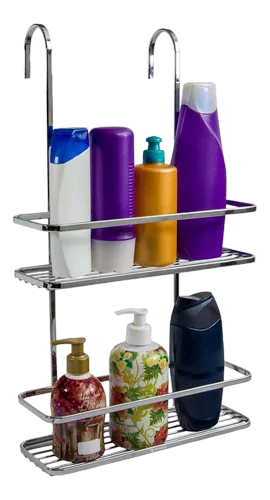 Suporte Para shampoo e Sabonete Box-encaixe-porta Shampoo Aço