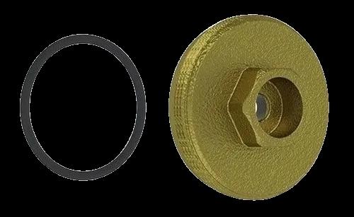 Tampa Frontal Latao Valvula Hydra Max 1.1/4-1.1/2 Censi 6250
