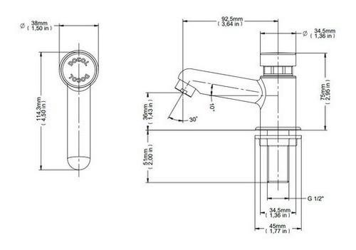 Torneira Docol Pressmatic 17160606 Com Fechamento Automático