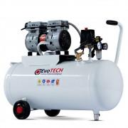 Compressor Odontológico Evotech Horizontal 50 Litros - 1 HP - 5 PCM - p/ 1 consultório