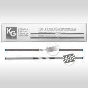KG Strips - Tira de Lixa de Aço Inox Diamantada Serrilhada e Colméia (6 Unidades) - KG Sorensen