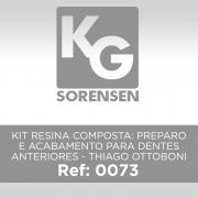 Kit Resina Composta: Preparo e Acabamento para Dentes Anteriores - Thiago Ottoboni