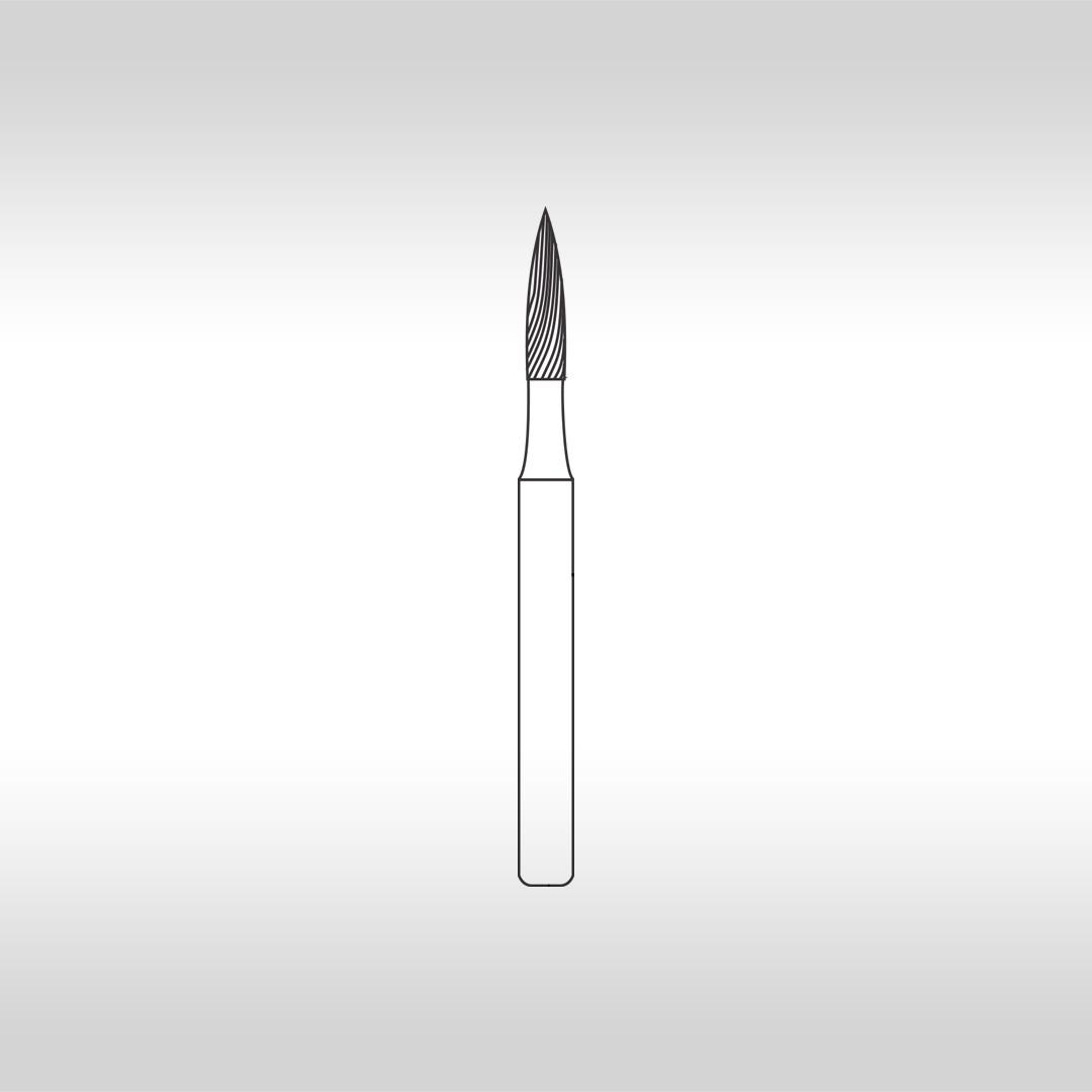 Broca Carbide Agulha Longa Multilaminada 30 Lâminas FG 9903FF - KG Sorensen