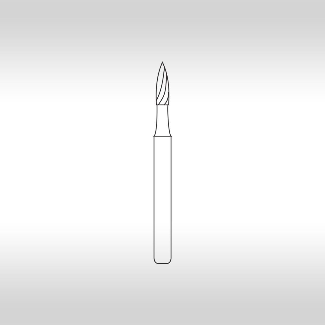 Broca Carbide Agulha Multilaminada 12 Lâminas FG 7903F - KG Sorensen