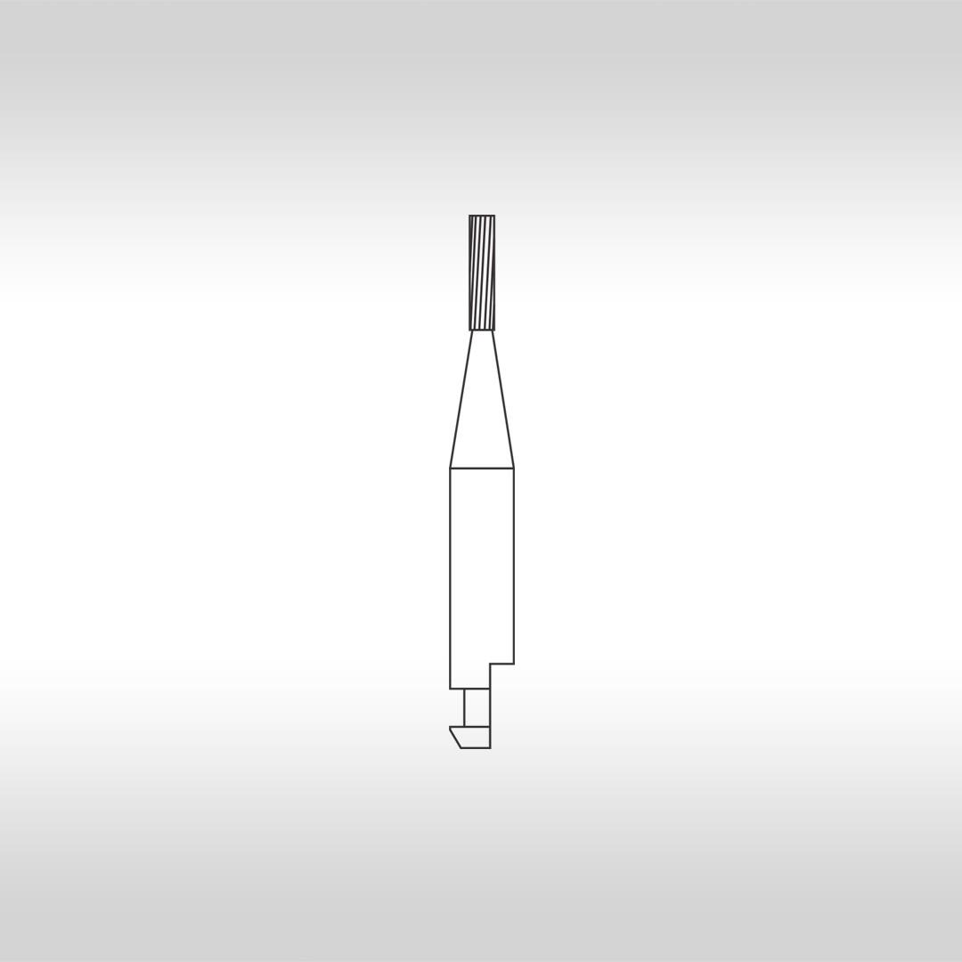 Broca Carbide Cilíndrica CAHC 56 (Haste curta) - KG Sorensen