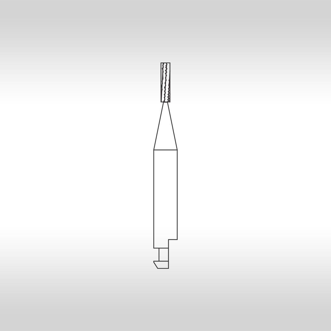 Broca Carbide Cilíndrica Denteada (Baixa Rotação) CA 556 - KG Sorensen