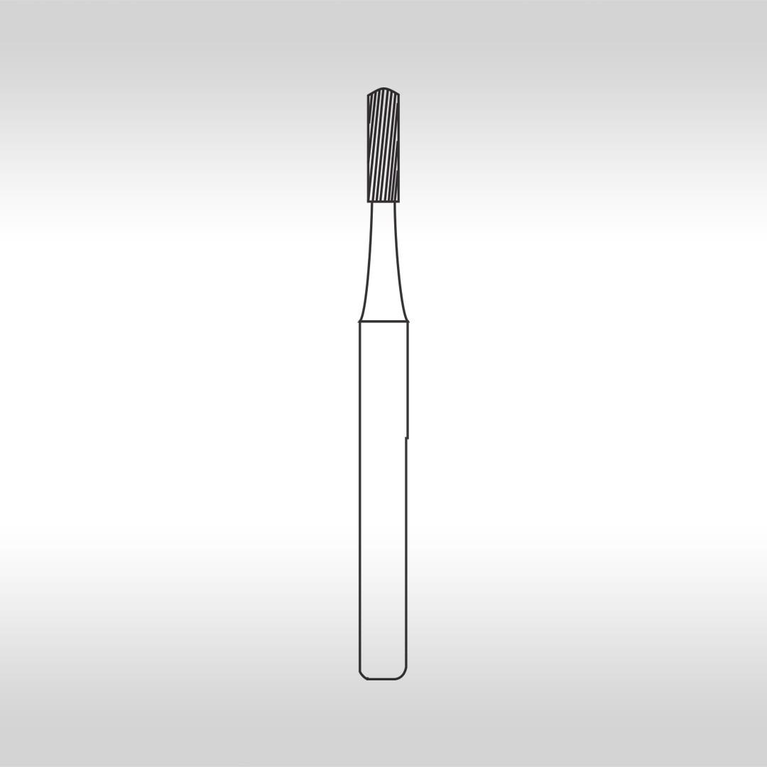 Broca Carbide FG 9572FF Cilíndrica Topo Arredondado Multilaminada 30 Lâminas  - KG Sorensen