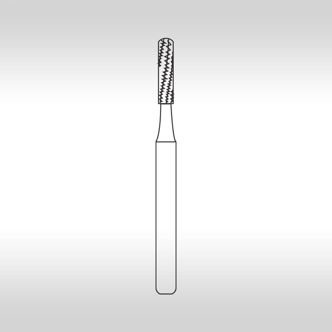 Broca Carbide Cilíndrica Longa de Extremidade Arredondada FG 1958L - KG Sorensen