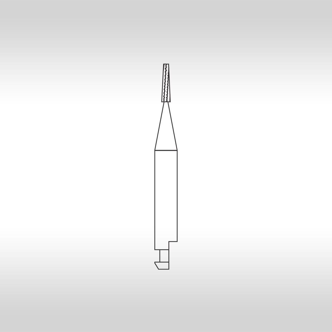 Broca Carbide Cônica Denteada CA 699 (Baixa Rotação) - KG Sorensen
