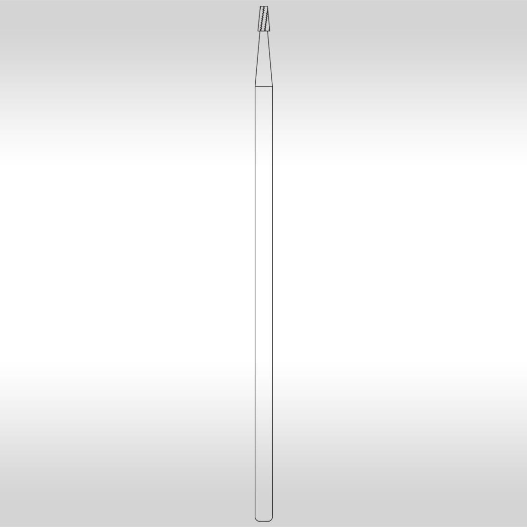 Broca Carbide Cônica Denteada PMC 702C (Cirúrgica) - KG Sorensen