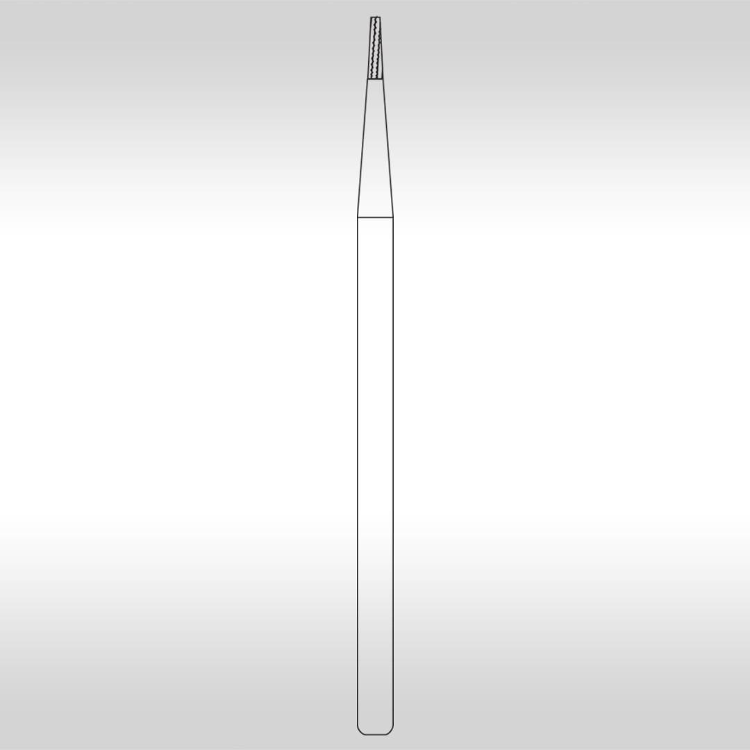 Broca Carbide FG 700L Cônica Denteada Longa  - KG Sorensen