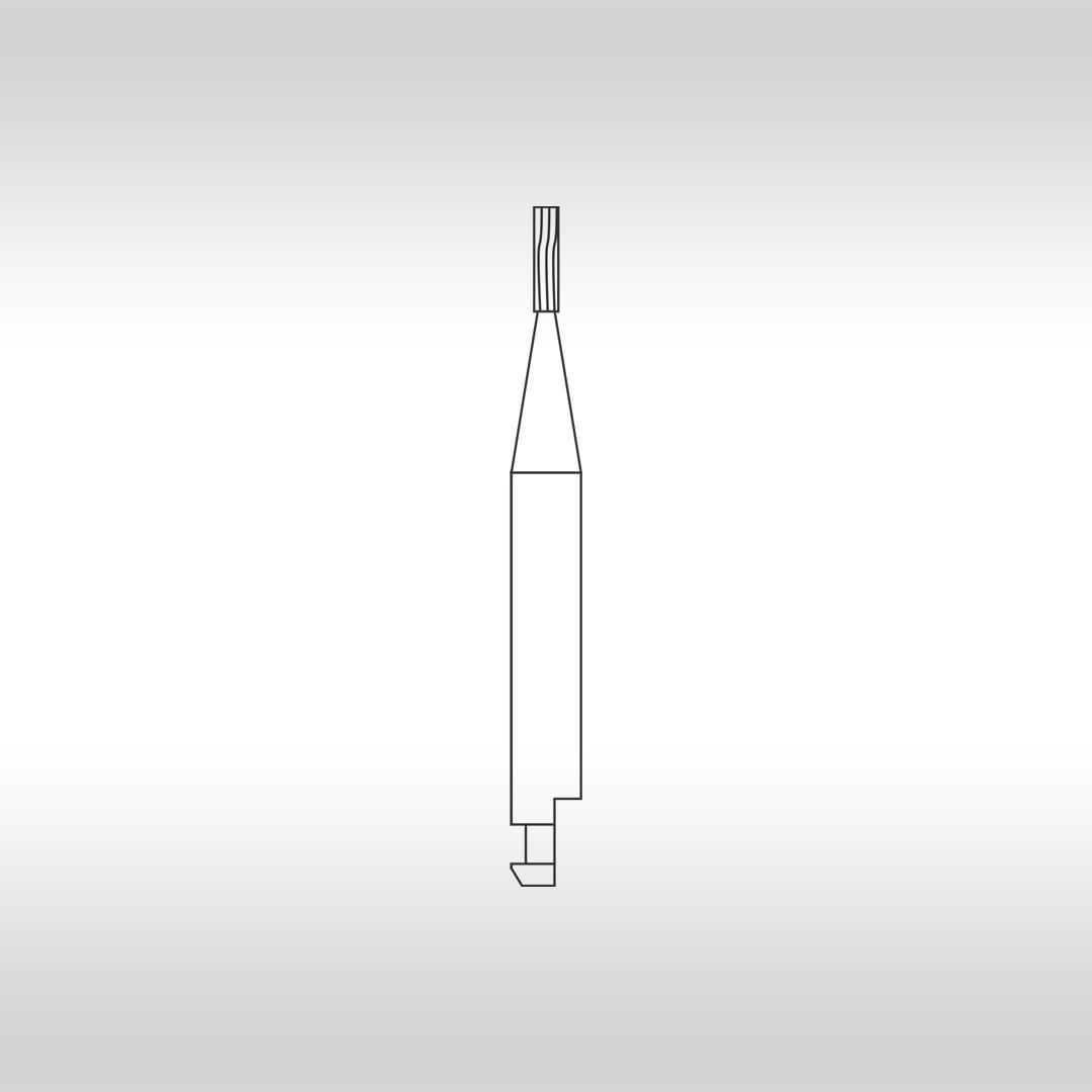 Broca Carbide Cônica Invertida (Baixa Rotação) CA 245 - KG Sorensen