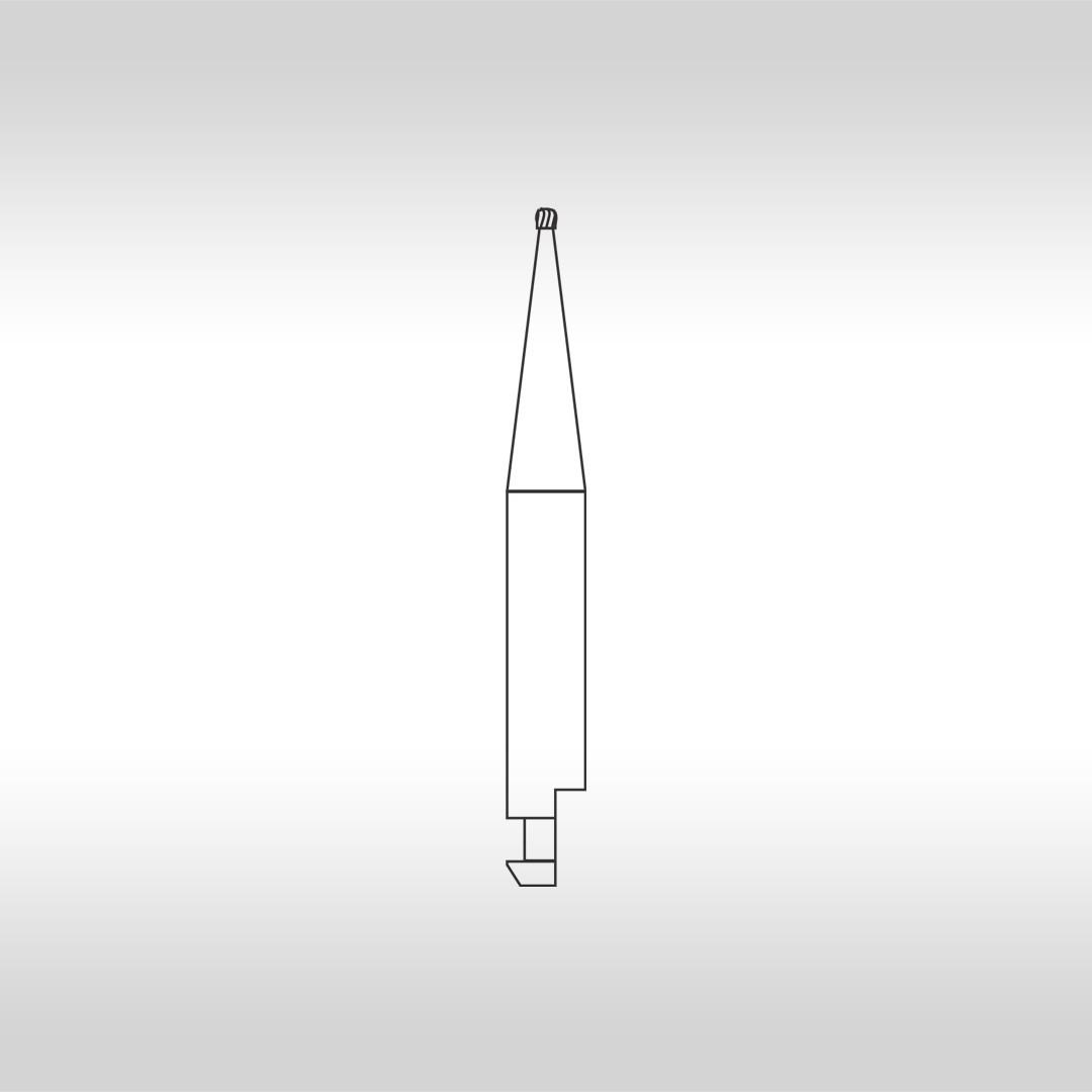 Broca Carbide CA 1/2  Esférica (Baixa Rotação) - KG Sorensen