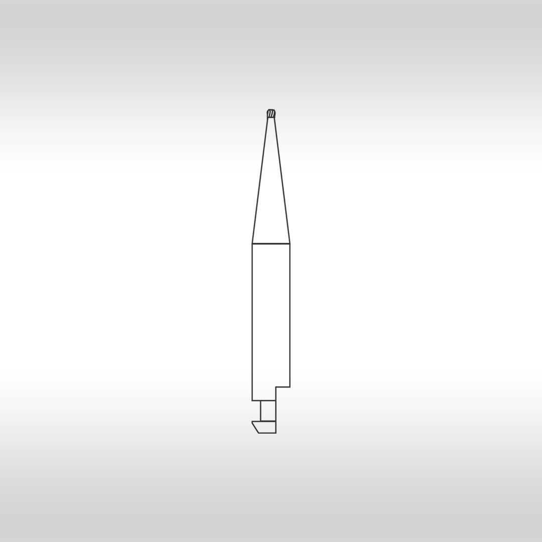Broca Carbide CA 1/4 Esférica  (Baixa Rotação) - KG Sorensen