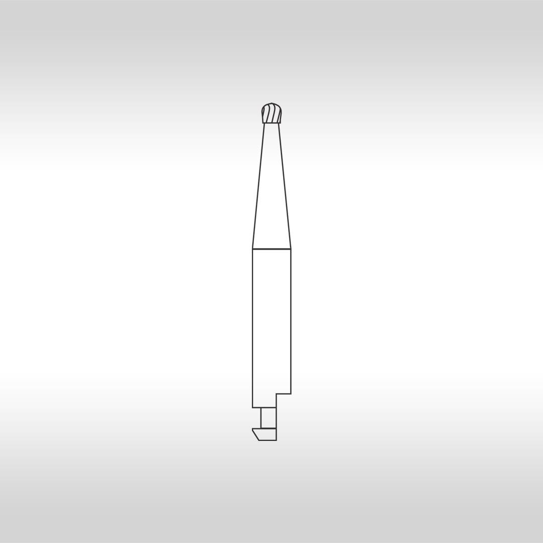 Broca Carbide Esférica CA 3 (Baixa Rotação) - KG Sorensen