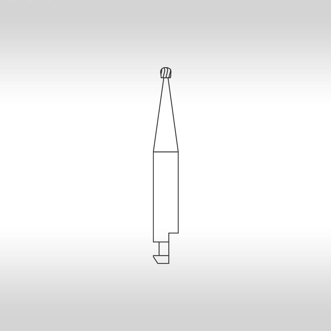 Broca Carbide Esférica CAHC 2 (Haste curta) - KG Sorensen