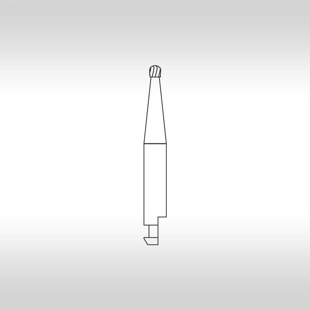 Broca Carbide Esférica CAHC 3 (Haste curta) - KG Sorensen