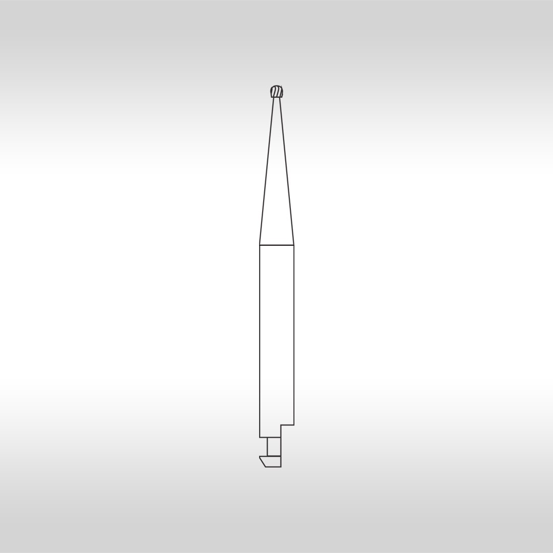 Broca Carbide Esférica Cirúrgica CAC 1 - KG Sorensen