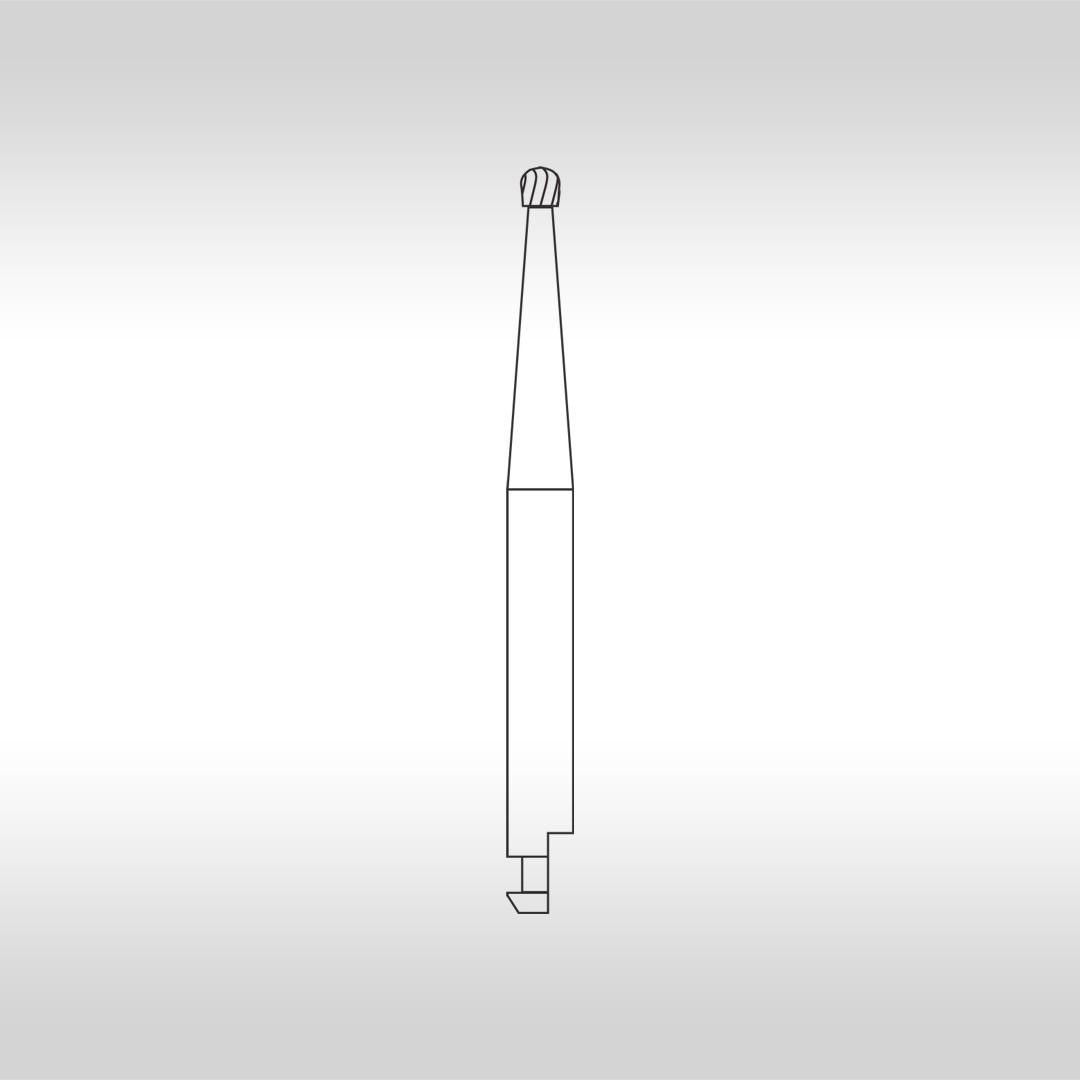 Broca Carbide Esférica Cirúrgica CAC 4 - KG Sorensen