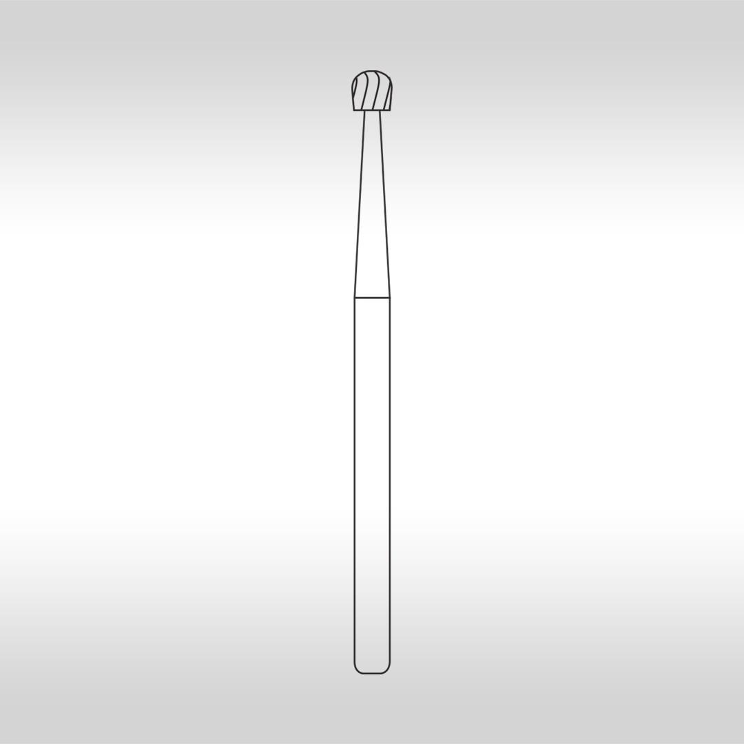 Broca Carbide Esférica Cirúrgica FGC 6 - KG Sorensen