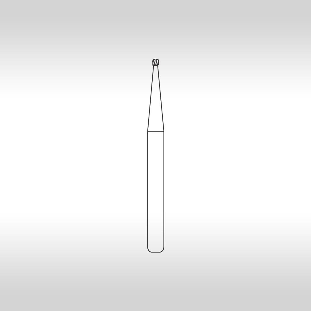 Broca Carbide Esférica FG 1/2 - KG Sorensen