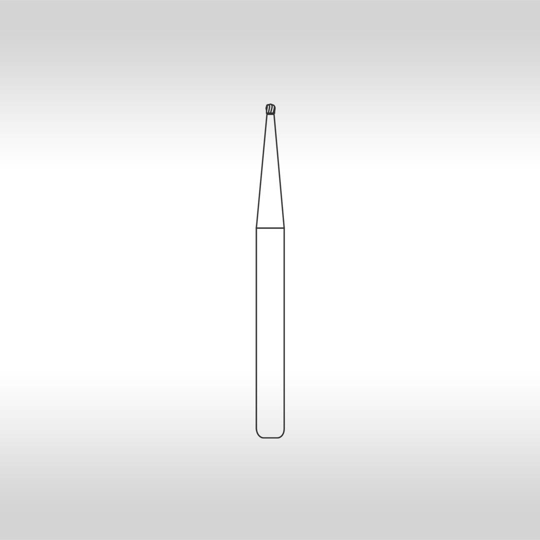 Broca Carbide Esférica FG 1/4 - KG Sorensen