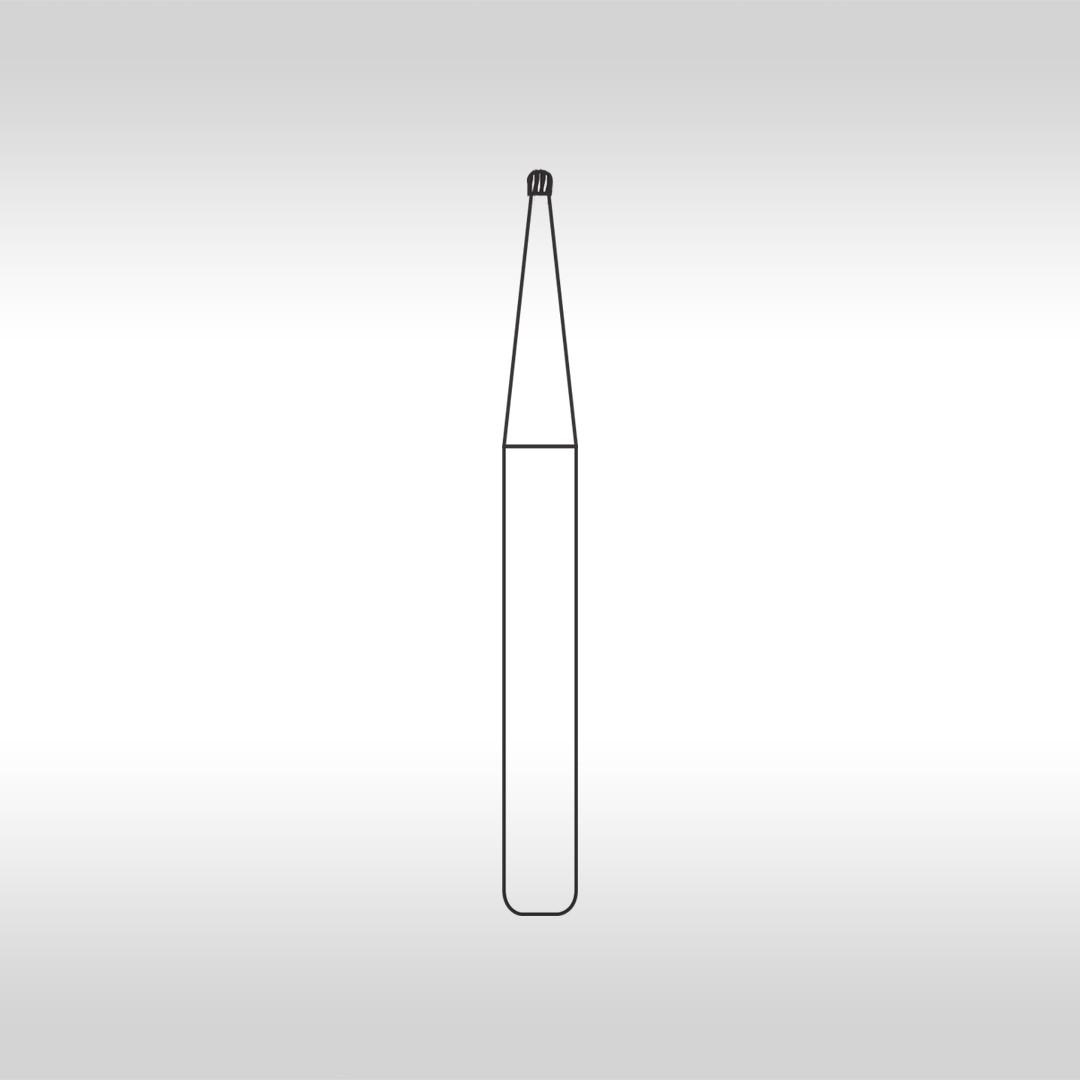 Broca Carbide Esférica FGHC 1/4 (Haste curta) - KG Sorensen