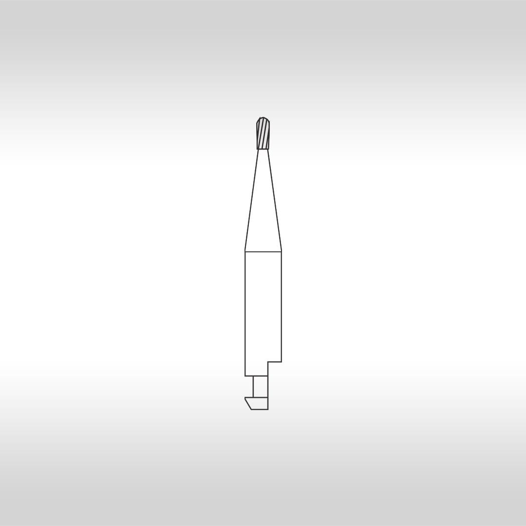 Broca Carbide Periforme CAHC 330 (Baixa Rotação - Haste Curta) - KG Sorensen