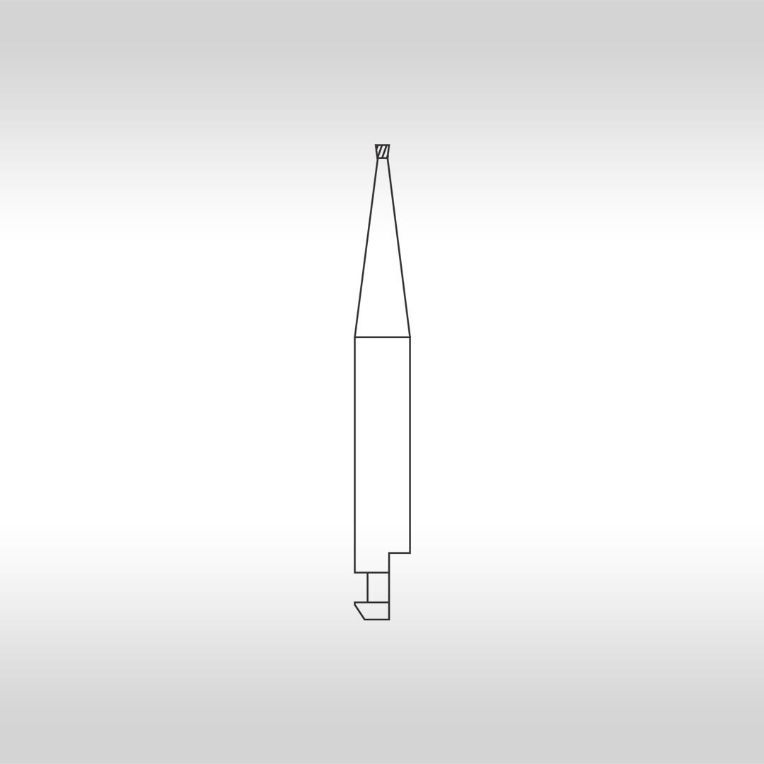 Broca Carbide Tronco Cônica Invertida (Baixa Rotação) CA 33 1/2 - KG Sorensen