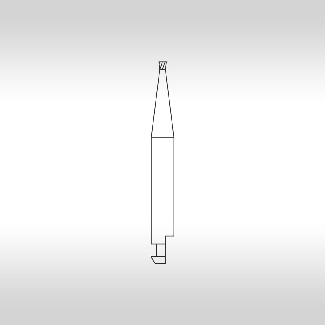 Broca Carbide Tronco Cônica Invertida CA 34 (Baixa Rotação) - KG Sorensen