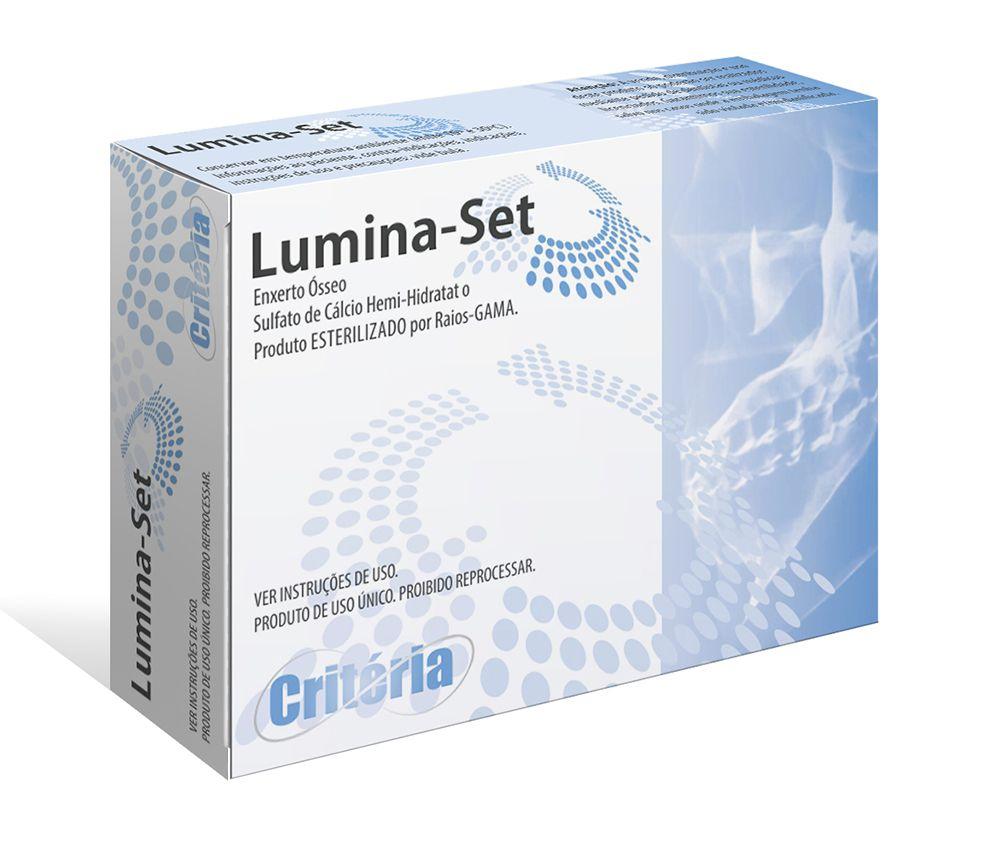 Enxerto Ósseo + Sulfato de Cálcio Lumina - Set - Critéria