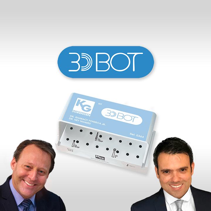 KIT 3D BOT - DR. GUARACY FONSECA JR. & DR. NEY TAVARES LIMA NETO - Ref.: 0364 - KG SORENSEN