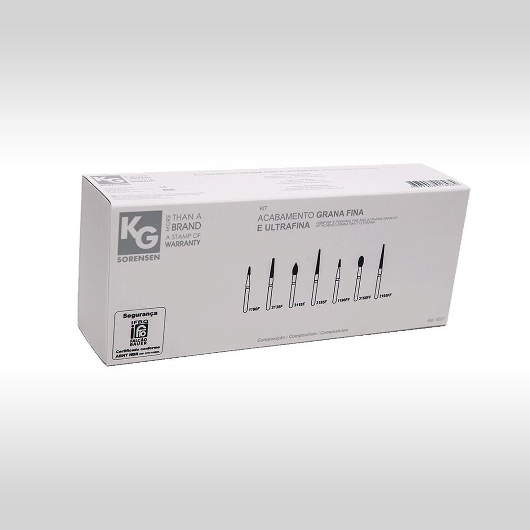 Kit Acabamento Grana Fina e Ultrafina - Ref.6007 - KG SORENSEN