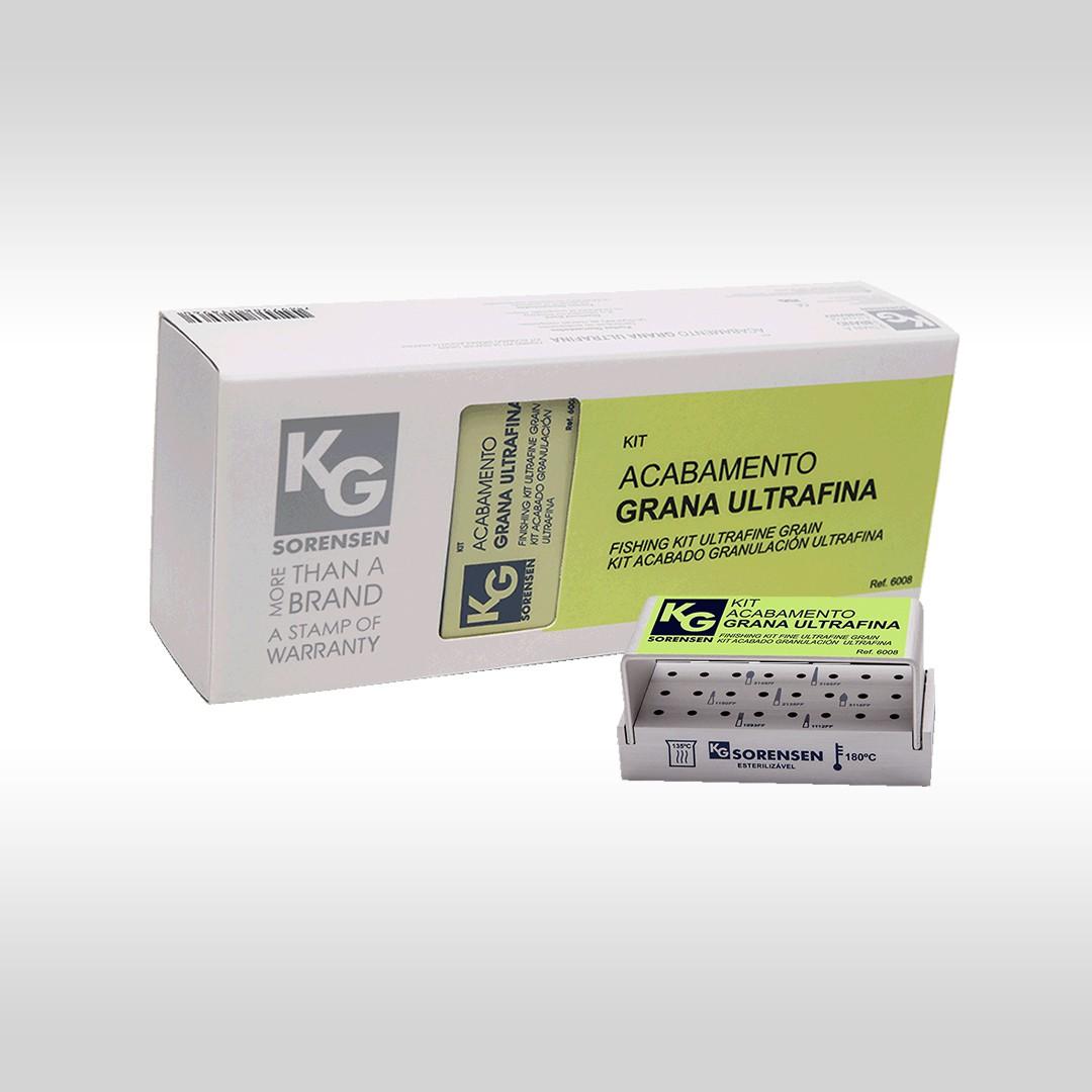 Kit Acabamento Grana Ultra Fina - Ref.: 6008 - KG SORENSEN