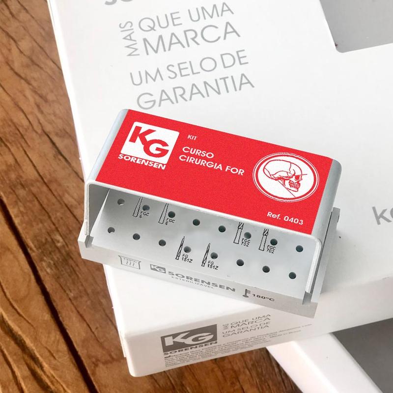 KIT CURSO CIRURGIA FOR - Ref.0403 - KG SORENSEN