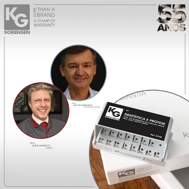 Kit Dentística e Prótese - Prof. Oscar Barreiros de Carvalho Junior e Prof. João Moretti Junior - Ref.0348 - KG SORENSEN