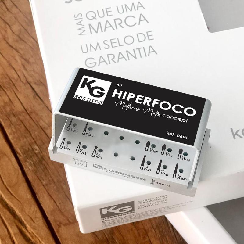 Kit HIIPERFOCO - Matheus Matos CONCEPT - Ref.0695 - KG SORENSEN