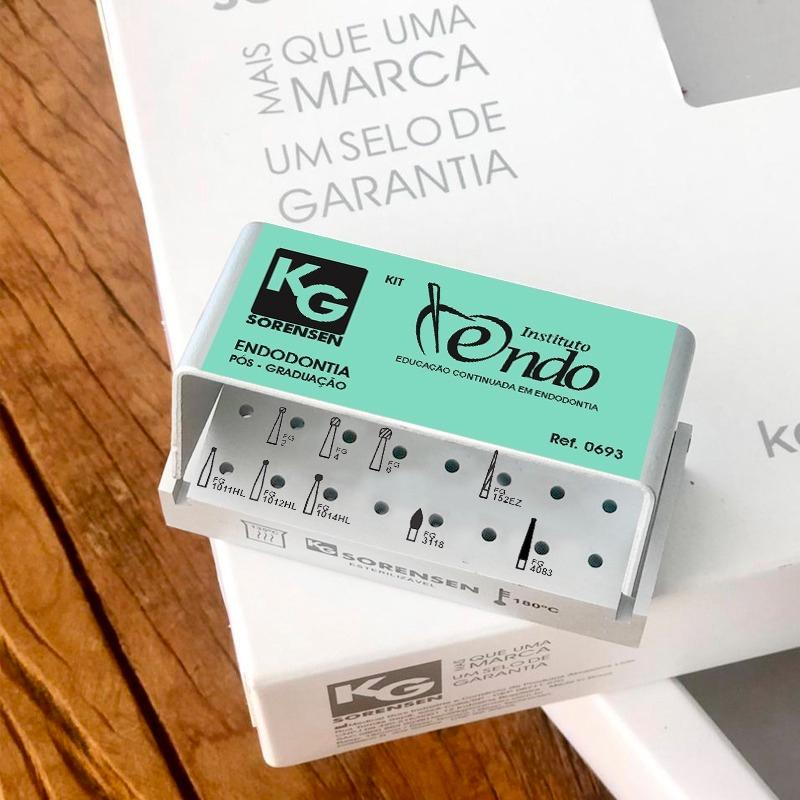 Kit Instituto Endo - Ref. 0693 - Educação Continuada de Endodontia (Especialização)