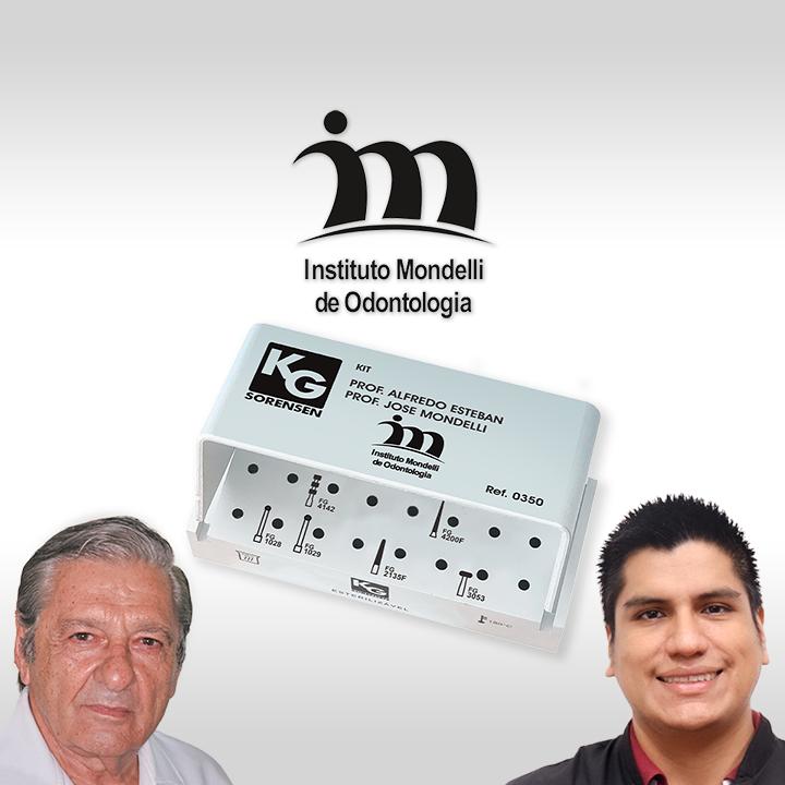 Kit Instituto Mondelli de Odontologia - Prof. Alfredo Esteban Prof. José Mondelli - Ref.: 350 - KG SORENSEN