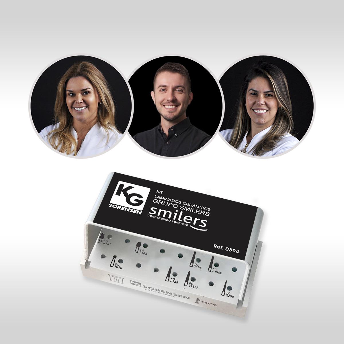 Kit Laminados Cerâmicos GRUPO SMILERS - Ref.: 0394 - KG SORENSEN