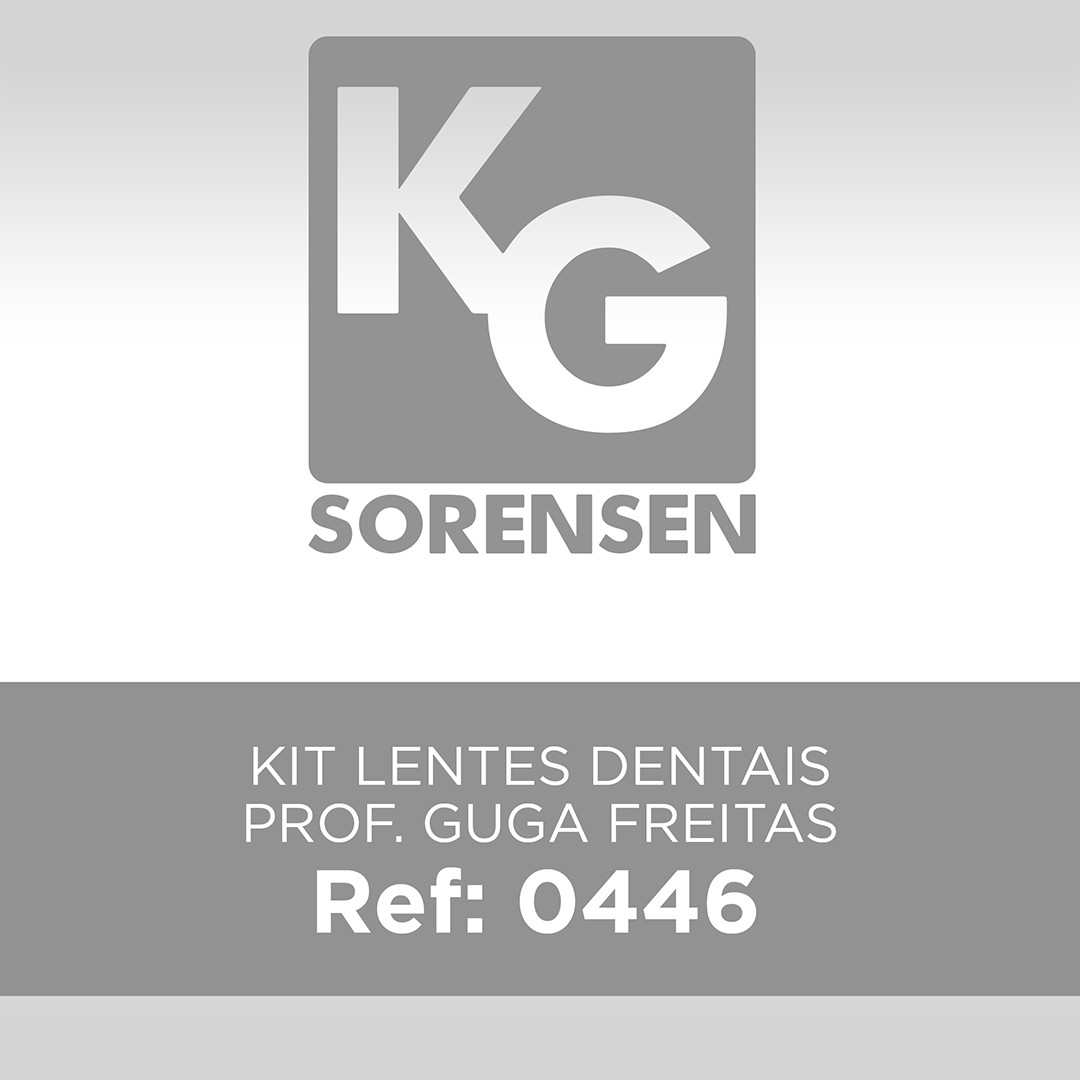 Kit Lentes Dentais Prof. Guga Freitas