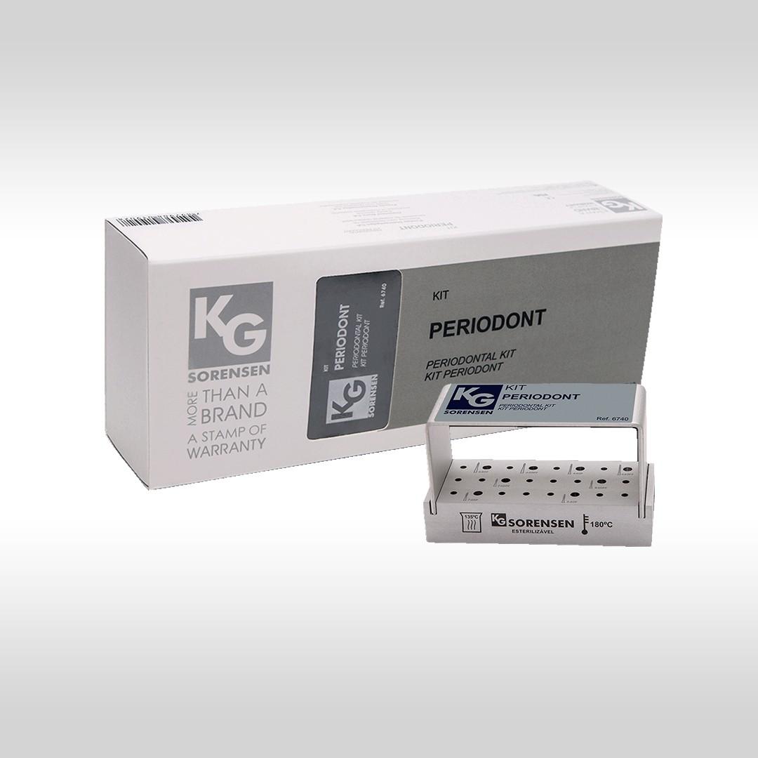 Kit Periodont - Ref.6740 - KG SORENSEN