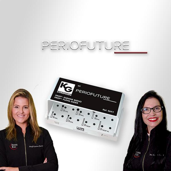 Kit PERIOFUTURE - Profª. Karinne Bueno Profª. Flávia Sader - Ref.: 0697 - KG SORENSEN