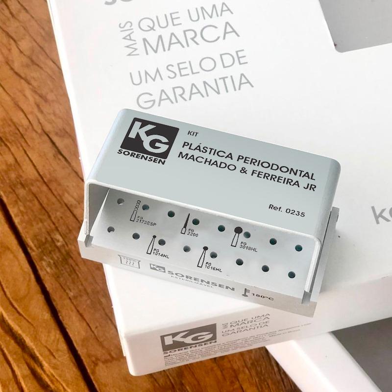 Kit Plástica Periodontal Machado & Ferreira Jr