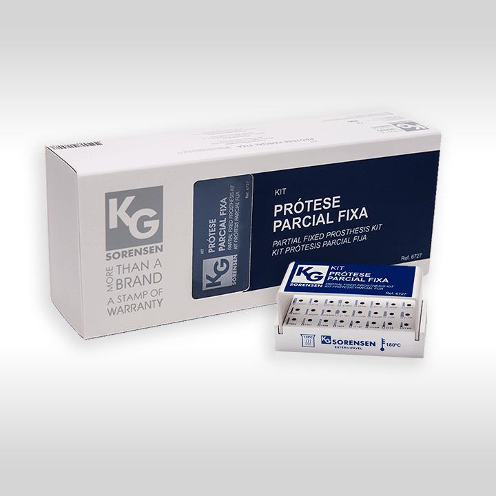 Kit Prótese Parcial Fixa - Ref.: 6727 - KG SORENSEN